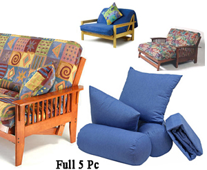 Loveseat Full 5 Pc Set