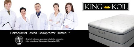 King Koil Chiropractor Trusted