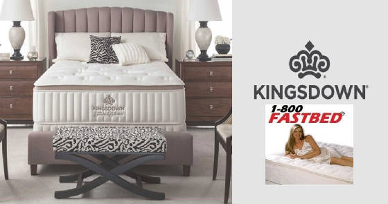Kingsdown Mattresses from 1-800Fastbed