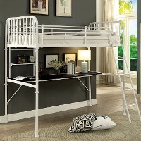 Ebony Desk Bunk Bed